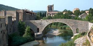 pont vieux à Lagrasse