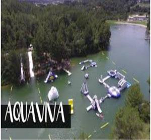 aquaviva-lac-de-cavayère jeux nautiques Activités au lac de Cavayère Location de vacances Gîtes Le Roc sur l'Orbieu