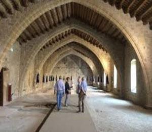 partie-pubique-de-l'Abbaye-de-Lagrasse