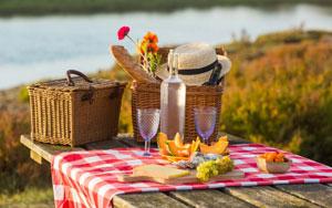 pique-nique-au-lac-de-Cavayère Activités au lac de Cavayère Location de vacances Gîtes Le Roc sur l'Orbieu