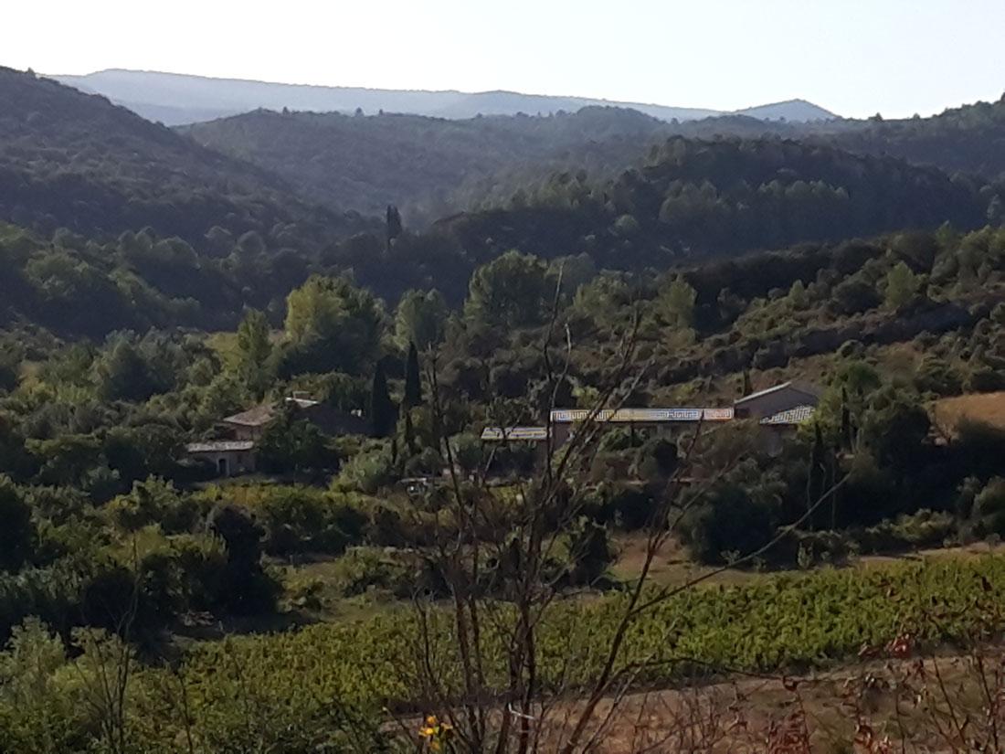 vue--location-vacances-le-roc-sur-l'orbieu-entre-Carcassonne-et-Narbonne