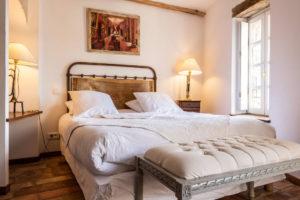 chambre 1° étage maison le four à pain - le roc sur l'orbieu-location vacances entre Carcassonne et Narbonne