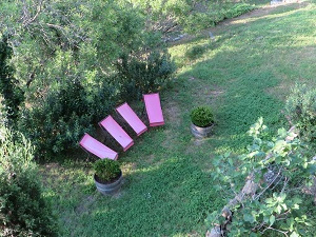 jardin - gite-Le Roc sur l'Orbieu entre Carcassonne et Narbonne