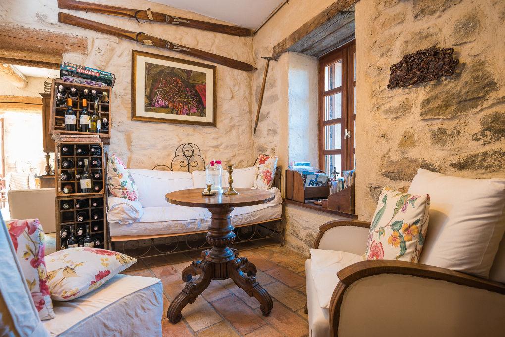 salle de bain le four à pain au Roc sur l'Orbieu gîtes en location vacances entre Carcassonne et Narbonne