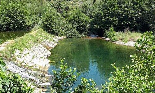 Baignade en rivière - Gite et Location Vacances en Corbières - Le Roc sur l'Orbieu, entre Narbonne et Carcassonne